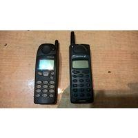 3 мобильных телефона. Нокиа 5110, Эриксон, Эриксон А2628s.