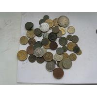 Монеты разные лот шк