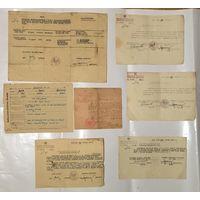 Документы WP Wojsko Polskie 1944-1947 год Цена за все