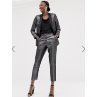 New Look шелковистые брюки с металлическим блеском р-р UK8, EUR 36, USA4