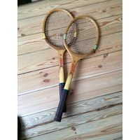 Ракетки для большого тенниса 2 деревянные