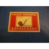Спичечные этикетки  Польша (экспорт) кабинетка