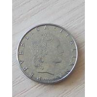 Италия 50 лир 1991г.