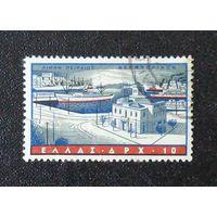 Вид на порт. Греция. Дата выпуска:1958-07-01