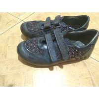 Кроссовки ботинки р.34 кожа woopy