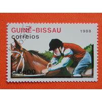 Гвинея - Бисау 1988 г. Спорт.