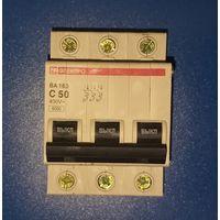 Автоматический выключатель ЭЛЕКТРО ВА163 С50
