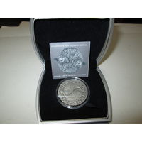 20 рублей 2009 г.Знаки зодиака Рыбы серебро РБ