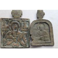 Две иконки Св. Параскева и Св. Николай 18 век.