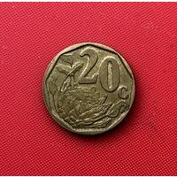 59-09 ЮАР, 20 центов 2006 г.