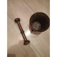Ступка царская.3,2кг бронза