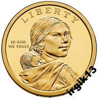 1 доллар 2010 года.Пояс Гайавата. США