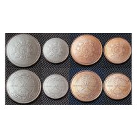 Оман набор 4 монеты 2015 UNC