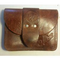 Винтаж 90-х,сумочка,барсетка на пояс DIESEL, кожа.
