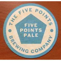 Подставка под пиво Five Points Pale Brewing Company