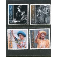 Гибралтар. 100 летие королевы Элизабет