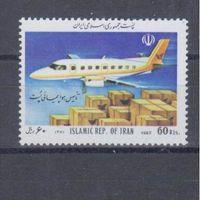 [2095] Иран 1992. Авиация.Самолет. MNH