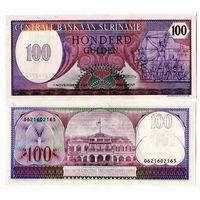 Суринам, 100 гульденов 1985 год, UNC-