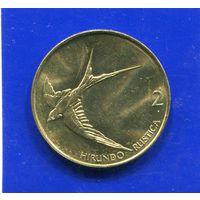 Словения 2 толара 2004 UNC