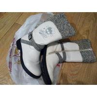 Сапоги белые для девочек зима