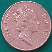 2 цента 1995 ФИДЖИ