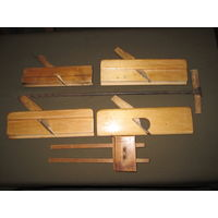 Столярные инструменты зензубель(отборник) фальцгебель рейсмус бурав-сверло ср.20-го века.