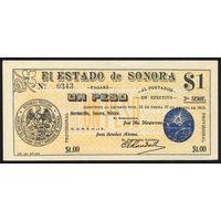 MEXICO/Мексика_1 Peso_L.1913_Pick#S1066.c_UNC