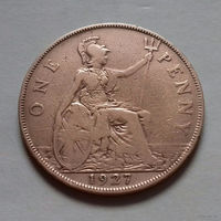 1 пенни, Великобритания 1927 г., Георг V