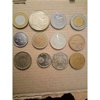 Сборка разных монет