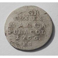 2 гроша 1766 (без мпц)