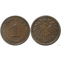 YS: Германия, Рейх, 1 пфенниг 1897A, KM# 10 (2)