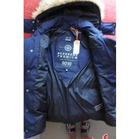 Новая куртка зимняя мужская с капюшоном SuperDryStore Англия р-р 46