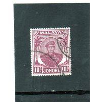 Британские колонии. Малайcкие штаты. Пенанг. Ми-123. Султан Ибрагим.1949.