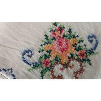 Салфетки вышивка из 1970 -х 9 штук