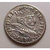 Трояк Риги 1592 Сигизмунд III отличное качество