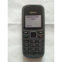 Мобильный телефон б.у. Nokia 1280 монохромный дисплей