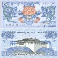 Бутан. 1 нгултрум 2013 [UNC]
