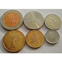 Руанда. набор 6 штук 2003-2007 год UNC