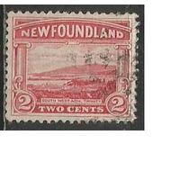 Ньюфаундленд. Морской пейзаж. Бухта. 1923г. Mi#115.