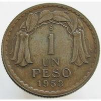 Чили 1 песо 1953 (314)