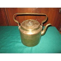 Чайник латунный 1948 г 3,5 л.