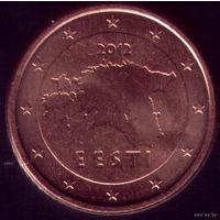 2 евроцента 2012 год Эстония