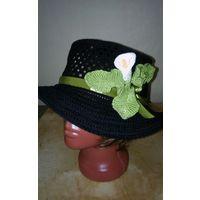 Шляпка с цветком калла