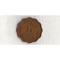 Египет 10 миллим 1943 //(МJ)