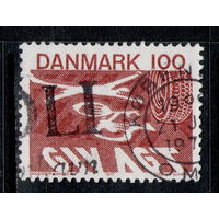 Марка Дания 1977