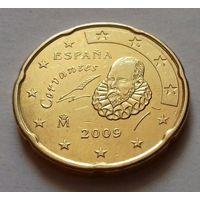 20 евроцентов, Испания 2009 г.
