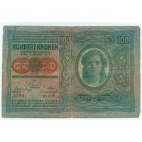 Австро-Венгрия, 100 крон 1912 год.