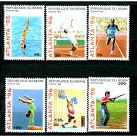 Бенин - 1996г. - Олимпийские игры - полная серия, MNH [Mi764-769] - 6 марок