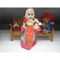 Винтажная кукла 36 см.