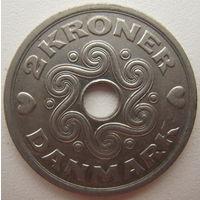 Дания 2 кроны 1997 г. (d)
